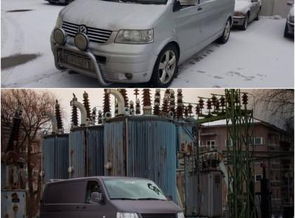 Autoteippaus, ikkunatummennus volkswagen